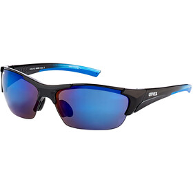 UVEX Blaze III Glasses black blue/blue